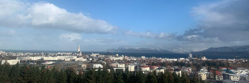 Photo: Reykjavik, as seen from Perlan